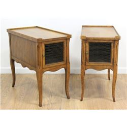 Pair French Provincial Side Tables