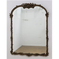 Gilded Wood & Gesso Mirror