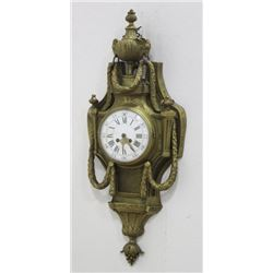 Bronze French Cartel Clock