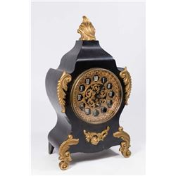 Ansonia Co. Gilt Bronze & Metal Mantel Clock