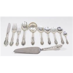":Sterling Silverware Set, ""La Scala"" by Gorham"