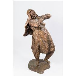 Bronze Sculpture, Peasant Woman