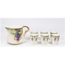 Limoges Fruit Punch Set