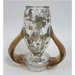 Escalier de Cristal French Floral Crystal Vase