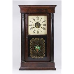 :Empire Mahogany Chauncey Jerome Clock