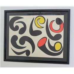 After Alexander Calder, Lithograph