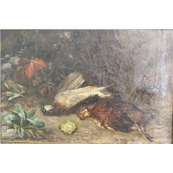 M. Hefti, Still Life with Fowl