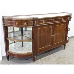 19th Century French Marble Top Sideboard