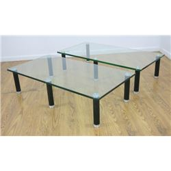 :Leon Rosen for Pace 2-Part Coffee Table