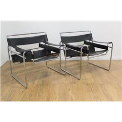Marcel Breuer, Pair Wassily Chairs