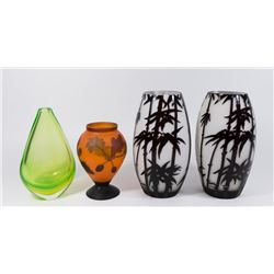 Modern Glass Lot