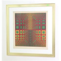 Victor Vasarely, Abstract