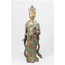Bronze Chinese Figure