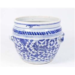 :Chinese Blue & White Planter