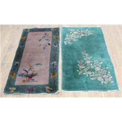 2 Chinese Runner Rugs/Carpets
