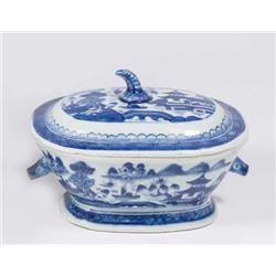 Canton Covered Small Tureen