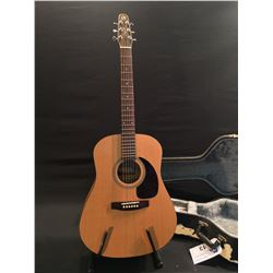 SEAGULL MODEL 29396F S6 ORIGINAL, ACOUSTIC GUITAR, MADE IN QUEBEC, SERIAL NUMBER 07114280, COMES