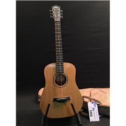 TAYLOR BT1 'BABY' CHILDREN'S ACOUSTIC GUITAR, SERIAL NUMBER 2111232319, COMES WITH SOFT SHELL CASE