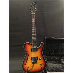 FENDER HMT TELECASTER STYLE SEMI-HOLLOW BODY ELECTRIC GUITAR, MADE IN JAPAN, SERIAL NUMBER I034003,