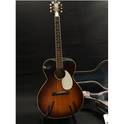KAY N-1 ACOUSTIC GUITAR, MADE IN USA, LATE 1950S OR EARLY 60S, SERIAL NUMBER L 7174, V SHAPE NECK,