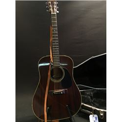 TAKAMINE MODEL F-349 ACOUSTIC/ELECTRIC GUITAR, SERIAL NUMBER 80071719, WITH TAKAMINE ELECTRONICS,