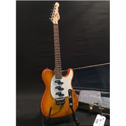 G&L (OF GEORGE FULLERTON AND LEO FENDER) MODEL ASAT Z-3 TELECASTER STYLE GUITAR, MADE IN USA, SERIAL