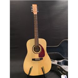 NORMAN MODEL B20-HG ACOUSTIC GUITAR, MADE IN CANADA, SERIAL NUMBER 99132228, COMES WITH HARD SHELL