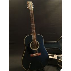 ART LUTHERIE MODEL WILD CHERRY LEFT HANDED ACOUSTIC GUITAR, MADE IN CANADA, SERIAL NUMBER 03282225,