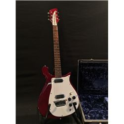 RICKENBACKER MODEL 450 ELECTRIC GUITAR, MADE IN USA, 1999, SERIAL NUMBER 9950895, WITH TWO VINTAGE