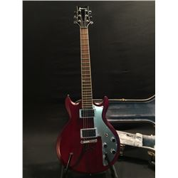 IBANEZ MODEL AXS32 DOUBLE CUT GUITAR, WITH TWO HUMBUCKER PICKUPS, METAL PICK GUARD, 2 VOLUME AND 2