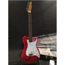 FENDER BULLET GUITAR, SERIAL NUMBER E108173, MADE IN USA, 1981-82, WITH TWO SINGLE COIL PICKUPS,