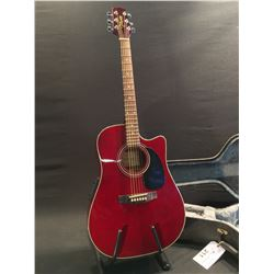 TAKAMINE G SERIES MODEL EG530C ACOUSTIC/ELECTRIC GUITAR, SERIAL NUMBER 1326582, COMES WITH HARD