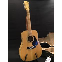 IBANEZ MODEL M-342 12 STRING GUITAR, (ONLY STRUNG WITH 6), MADE IN JAPAN, SERIAL NUMBER A810625,
