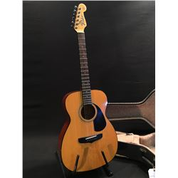 FENDER AVALON ACOUSTIC GUITAR, SERIAL NUMBER 90717434, COMES WITH HARD SHELL CASE
