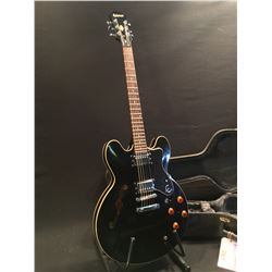 EPIPHONE DOT EB HOLLOWBODY ELECTRIC GUITAR, SERIAL NUMBER EE070305351, WITH TWO HUMBUCKER PICKUPS,