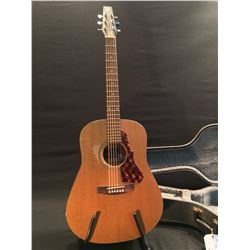 SEAGULL CEDAR MODEL ACOUSTIC GUITAR, MADE IN CANADA, COMES WITH HARD SHELL CASE