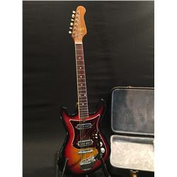 MARLIN ELECTRIC GUITAR, WITH TWO SINGLE COIL IDOL PA25 PICKUPS, TWO PICKUP SELECTOR SWITCHES, TONE