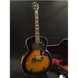 GIBSON MODEL J200VS ACOUSTIC GUITAR, MADE AT THE BOZEMAN, MONTANA FACTORY IN USA, 1996, SERIAL