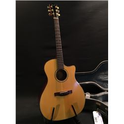 FENDER MODEL GA45SCE NAT, ACOUSTIC/ELECTRIC GUITAR, SERIAL NUMBER 01018134, COMES WITH HARD SHELL