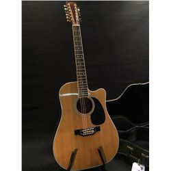 TAKAMINE MODEL EF400SC (4 BAND) 12 STRING ACOUSTIC/ELECTRIC GUITAR, SERIAL NUMBER 83041668, MADE IN