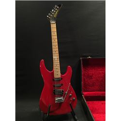 KRAMER XL VI ELECTRIC GUITAR, SERIAL NUMBER XL6-00466, WITH TWO SINGLE COIL, AND ONE HUMBUCKER
