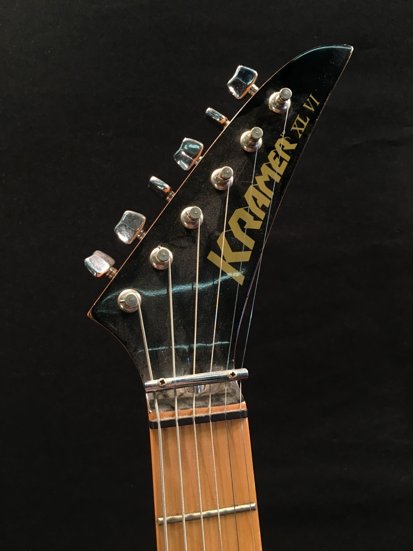 kramer xl vi electric guitar serial number xl6 00466 with two single coil and one humbucker. Black Bedroom Furniture Sets. Home Design Ideas