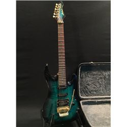 ARIA PRO II MAGNA SERIES GUITAR, WITH TWO SINGLE COIL PICKUPS AND ONE HUMBUCKER, FLOYD ROSE LOCKING