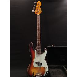 VINTAGE ICON SERIES RELIC'ED P-BASS STYLE 4 STRING BASS, WITH WILKINSON HARDWARE, COMES WITH HARD