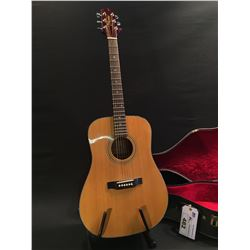 TAKAMINE MODEL G530 ACOUSTIC GUITAR, COMES WITH HARD SHELL CASE