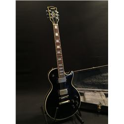 MANN LES PAUL COPY GUITAR, MADE IN JAPAN, WITH TWO HUMBUCKER PICKUPS, TWO TONE AND TWO VOLUME
