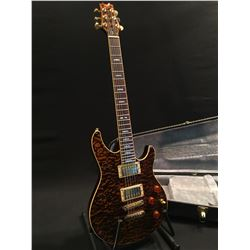 PEAVEY EXP SIGNATURE SERIES GUITAR, WITH TWO HUMBUCKER PICKUPS, THREE VOLUME AND TONE CONTROLS,