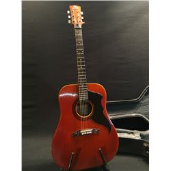 EKO RANGER 6 ACOUSTIC GUITAR, MADE IN ITALY, SERIAL NUMBER 6265, SIGNED BY LUTHIER ON INSIDE,