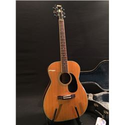 DANA ACOUSTIC GUITAR, MADE IN JAPAN, COMES WITH HARD SHELL CASE