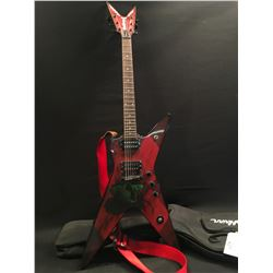 WASHBURN DIMEBAG DARRELL MODEL DIME36G17 GUITAR, WITH TWO HUMBUCKER PICKUPS, THREE POSITION TONE